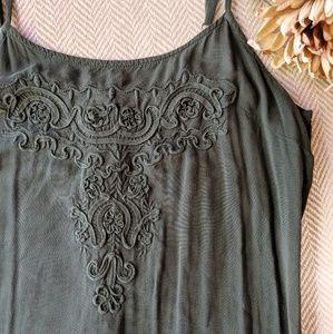 ✨Merona Ruffle Maxi Dress